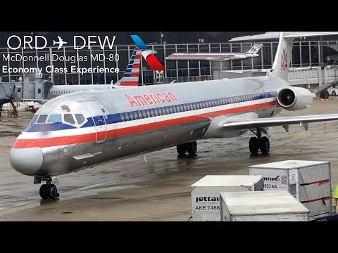 TRIPREPORT | American Airlines | Chicago to Dallas | MD-83 | Economy Class Experience!