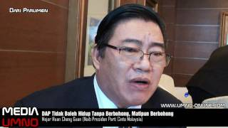 DAP Tidak Boleh Hidup Tanpa Berbohong, Matipun Berbohong