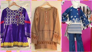 Download Short Cotton Frocks/Shirts Styles For Girls ||Trendy And Stylish Designs