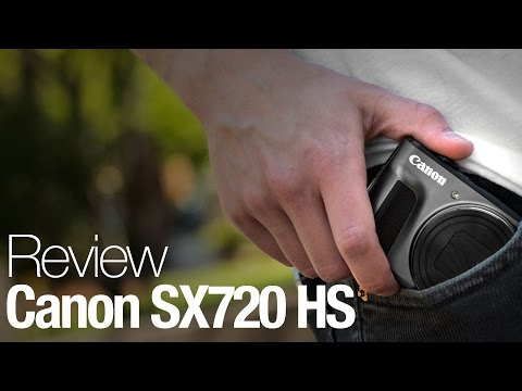 Canon PowerShot SX720 HS Camera Review
