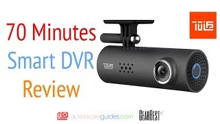 Best Budget Dash Cam 2017 - 70 Mai 70 Minutes Smart Car DVR Review