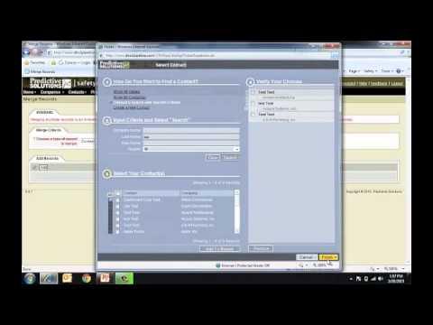 Admin 9 - How To Merge Duplicates