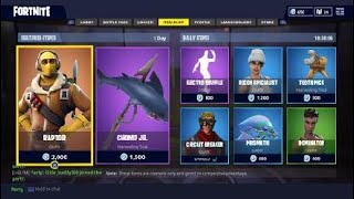 FORTNITE DAILY ITEMS #2 2/7/18
