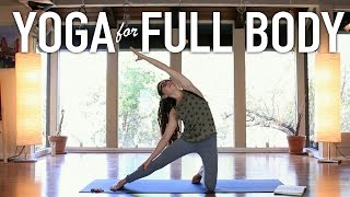 Full Body Level II Yoga Workout - Hip Stretching & Heart Opening