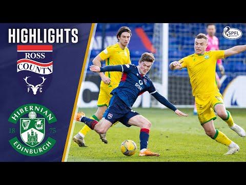 Ross County Hibernian Goals And Highlights