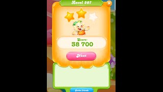 Candy Crush Jelly Saga Level 207