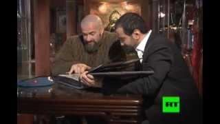 Сергей Бадюк: Интервью для Russia Today (на арабском языке)