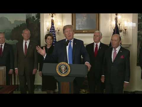 The White House: President Trump Signs a Presidential Memorandum Targeting China's Economic Aggression