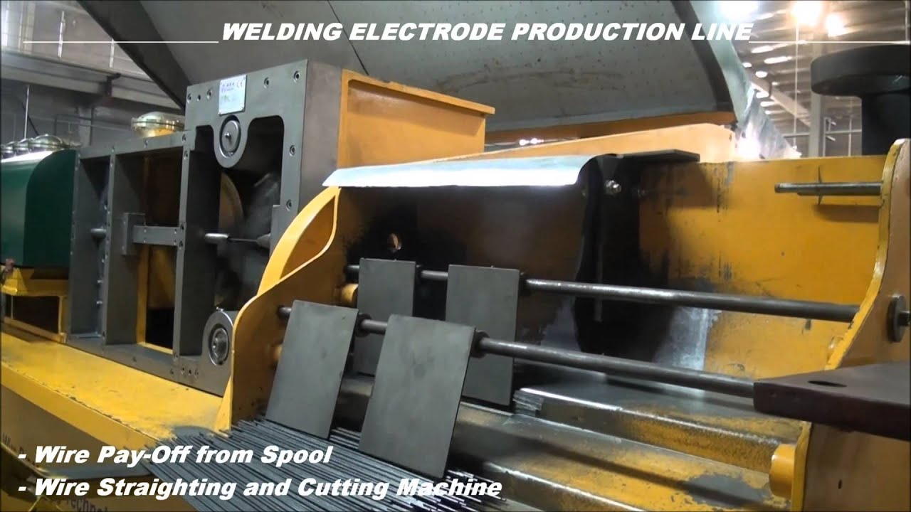 ARA MAKINA - WELDING ELECTRODE PRODUCTION PLANT - YouTube