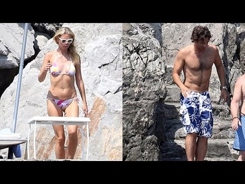 Gwyneth Paltrow and Boyfriend Brad Falchuk Spotted on Italian Vacay!