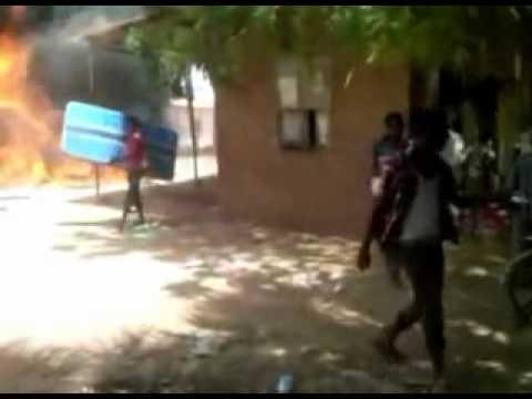 Muslim mob burn and loot Church in Sudan capital Khartoum.