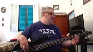 Realmbuilder - Summon The Stone Tower ( Personal Bass Cover )