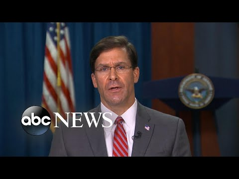 Defense Secretary Says He Supports Decision To Fire USS Theodore Roosevelt Officer | ABC News