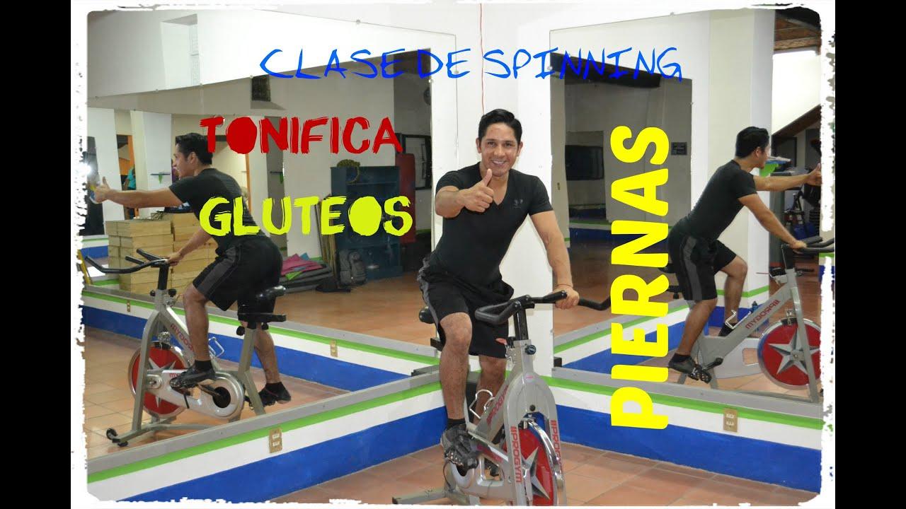 rutinas de spinning en casa para principiantes