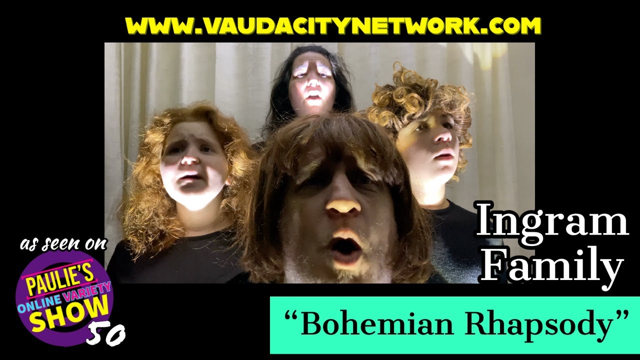 """""""Bohemian Rhapsody"""" {COVER} Performed By the Ingram Family"""