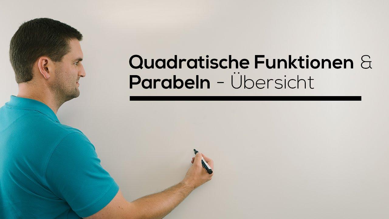 parabeln quadratische funktionen bersicht scheitelpunkt stauchung streckung mathe by daniel. Black Bedroom Furniture Sets. Home Design Ideas