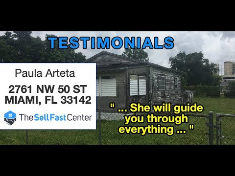 Testimonial: Paula A, Brownsville FL | The Sell Fast Center