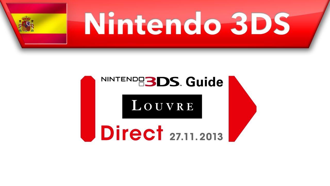 Presentación Nintendo 3DS Guide: Louvre Direct 27-11-2013