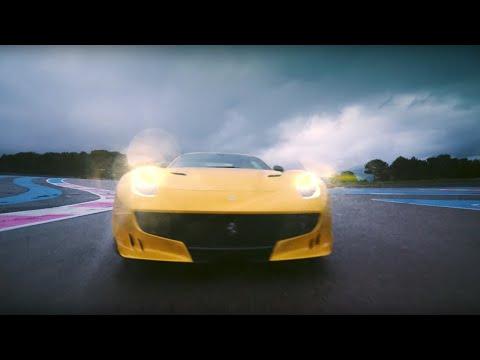 Chris Harris Vs Ferrari F12tdf | Top Gear