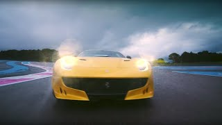 Chris Harris Vs Ferrari F12tdf | Top Gear
