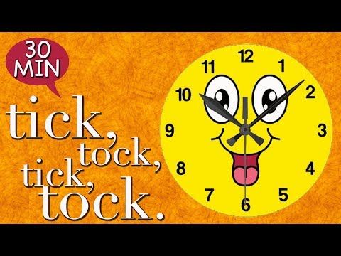 Tick Tock Tick Tock Merrily Sings The Clock | Kids Nursery Rhymes | Lots More Rhymes Collection |