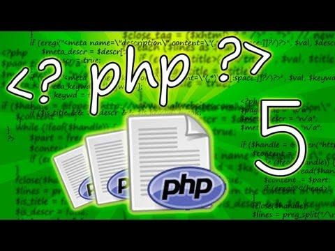 Tutorial PHP Basico - 5 - Imprimir Cadenas Y Html Con Echo