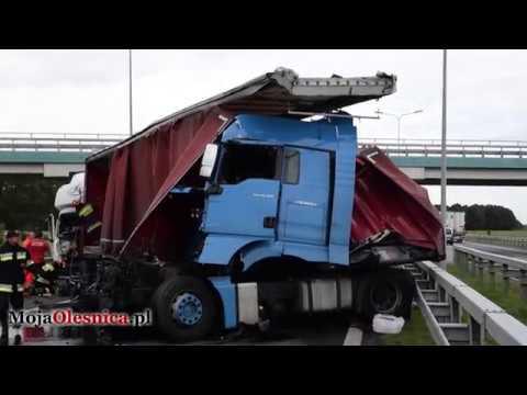 12.09.2017 Oleśnica, Cieśle – wypadek na S8