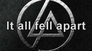 Repeat youtube video Linkin Park - In The End Lyrics