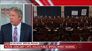 "CBS News' Garrett: Independents, Voters Want Congress To Stop Impeachment & ""Get Back To Work"""