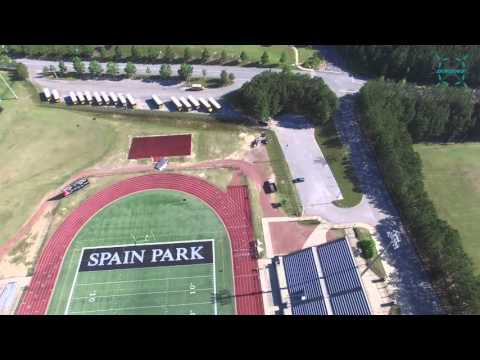 Spain Park High School, Hoover, AL Part 1 - BluffParkDrone