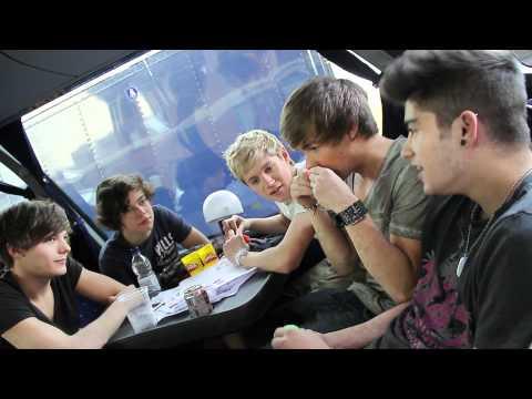 One Direction: X Factor Tour Q&A