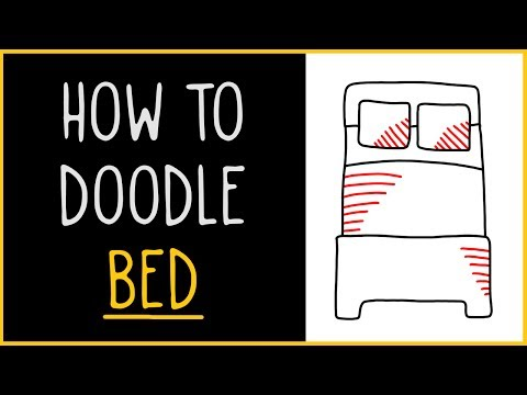 Learn How to Doodle a Bed (drawing tips)