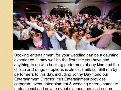 Wedding Entertainment Agency London
