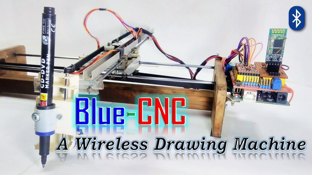 How to Make Wireless Arduino CNC Plotter machine At Home