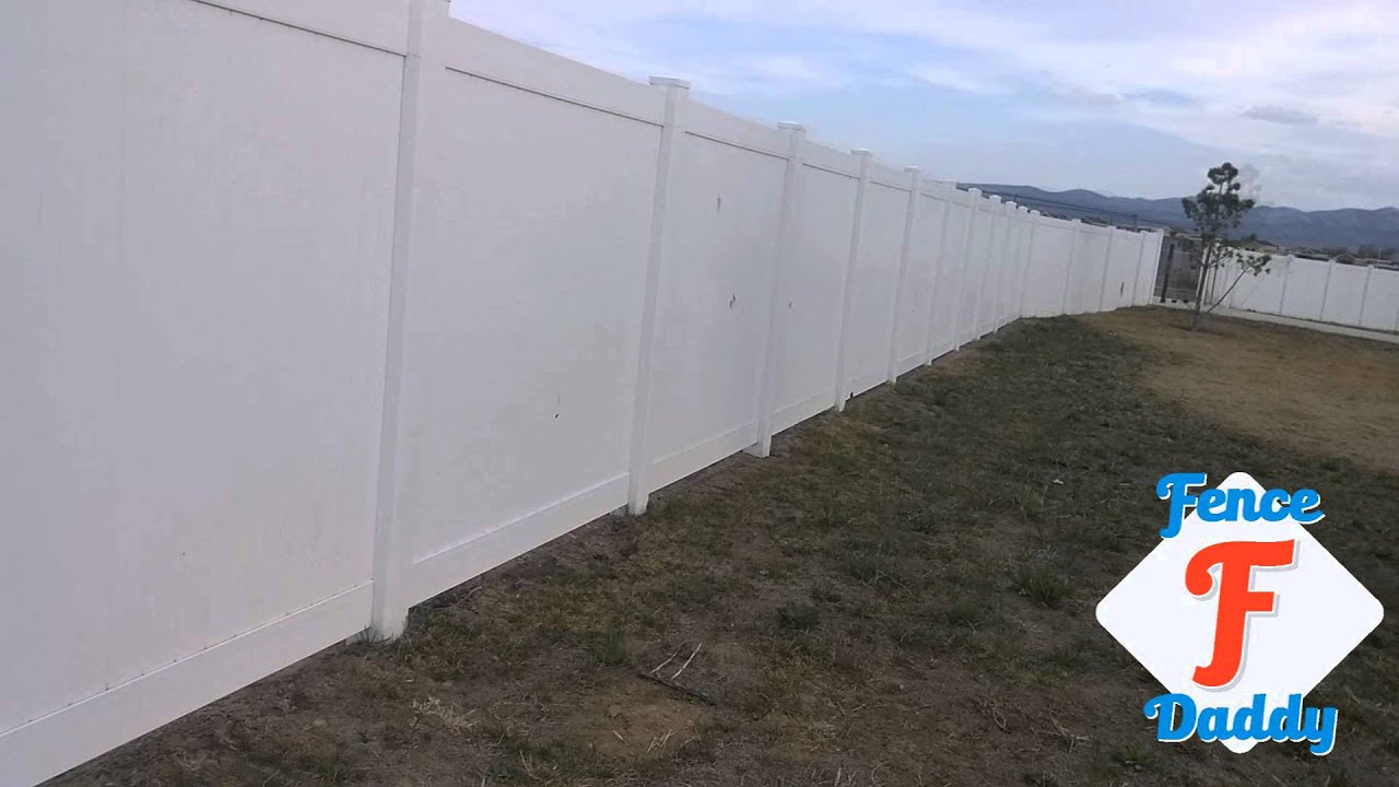 Vinyl Fence Panels With Severe Damage!