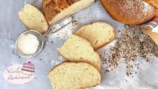 Einfaches Dinkelbrot mit Buttermilch I schnell zuzubereiten I Rezept von Nicoles Zuckerwerk