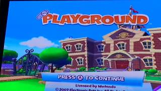 Playing Playground on the Wii
