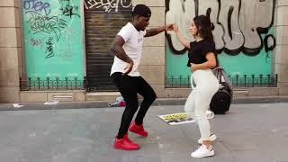 Peruano Bailando Salsa Cubana Con Italianas -india Y Latina En Madrid Bailando Timba Cubana L