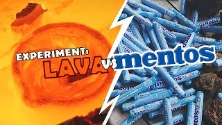 eXPERIMENT: LAVA VS MENTOS