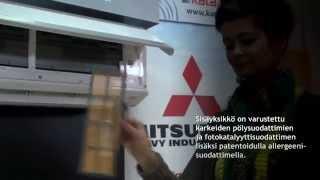 видео Mitsubishi Heavy SRK71ZR-S/SRC71ZR-S купить с установкой