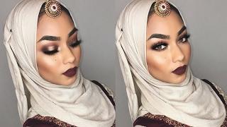 GRWM - Gold and brown halo eyeshadow | Sabina Hannan