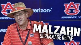 Gus Malzahn recaps Auburn's 2nd fall scrimmage