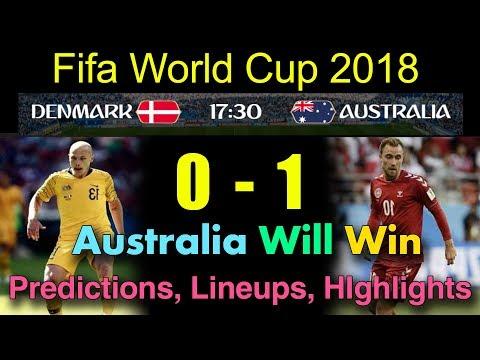Denmark Vs Australia Prediction | Denmark Vs Australia Lineups | Highlights | #MM