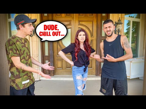 Being Mean to FAZE RUG'S GIRLFRIEND TO SEE HOW HE REACTS...