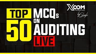 (Mock 17) Auditing| Top 50 MCQ || June 2019|| 8948156741