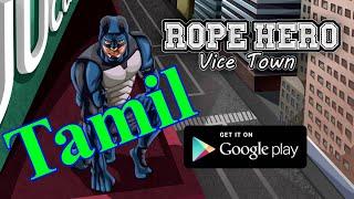 Rope hero vice town Android  Game Play Tamil screenshot 2
