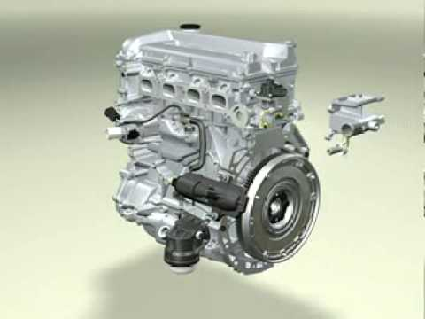 Car Engine Part By