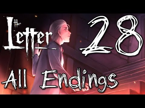 The Letter - The Finale (Ch.7 ALL ENDINGS ) Manly Let's Play [ 28 ]