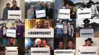 #BoobProject (Hozier, Florence Welch etc) - Boob Spelled Backwards is Boob
