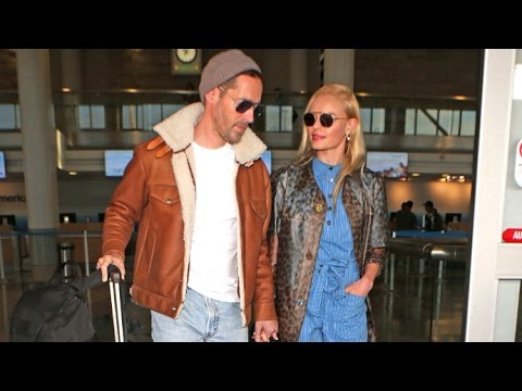 Kate Bosworth And Michael Polish Looking So In Love At LAX